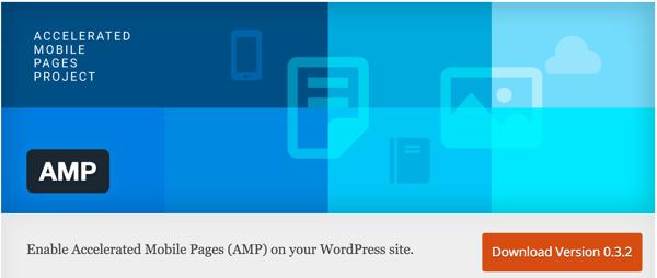 Installing AMP in WordPress